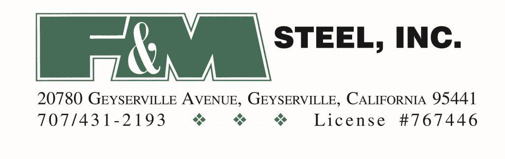 F & M Steel logo